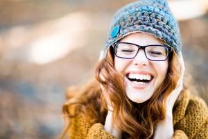 foto di ragazza sorridente